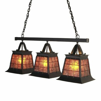 Top Ridge 3-Light Kitchen Island Pendant