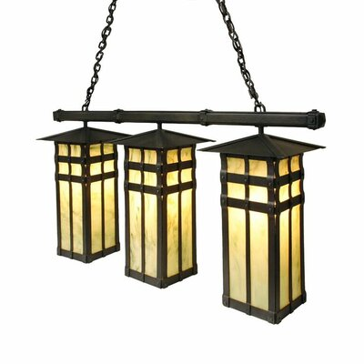 San Carlos 3-Light Kitchen Island Pendant