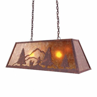 Deer Canyon 2-Light Kitchen Island Pendant