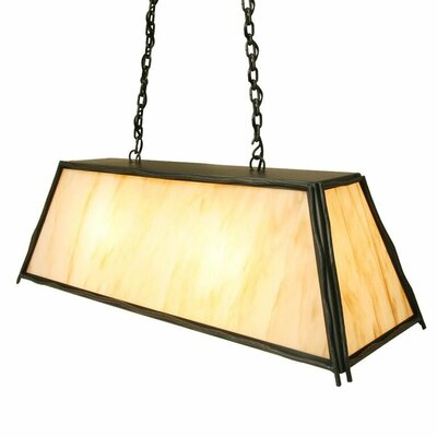 Sticks Canyon 2-Light Kitchen Island Pendant