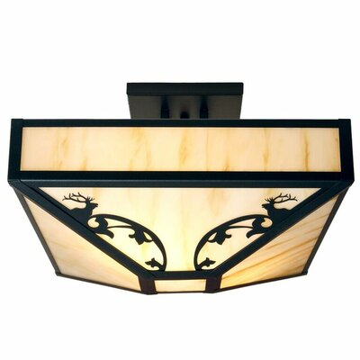 Bavarian 4-Light Semi Flush Mount