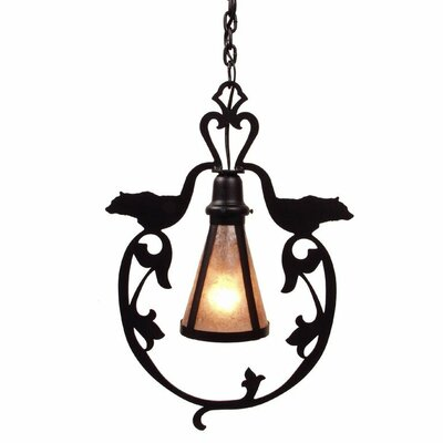 Bavarian 1-Light Mini Pendant