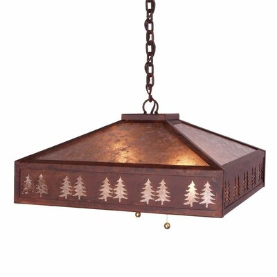 Meadow Band of Trees 2-Light Pendant