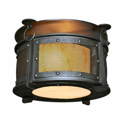 Rogue River 2-Light Semi Flush Mount