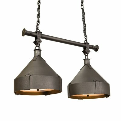 Trulli 2-Light Kitchen Island Pendant