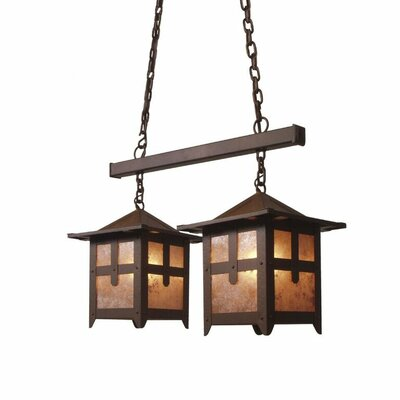 Hillcrest 2-Light Kitchen Island Pendant