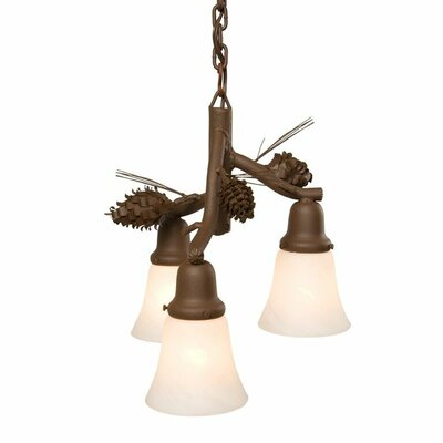 Ponderosa Pine 3-Light Mini Pendant
