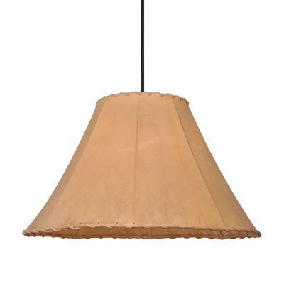 1-Light Mini Pendant Size: 12 H x 20 W x 20 D