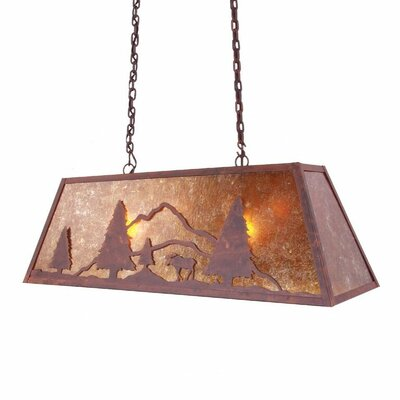 Moose Canyon 2-Light Kitchen Island Pendant