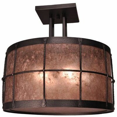 Ferron Forge 4-Light Semi Flush Mount