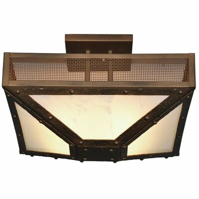 Rogue River 4-Light Semi Flush Mount