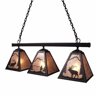 Elk 3-Light Kitchen Island Pendant