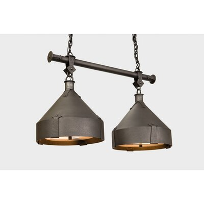Trulli Double Anacosti Light Pendant Finish: Architectural Bronze