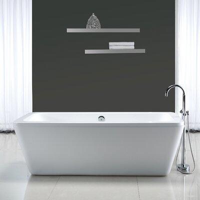Kido 69 x 23 Acrylic Freestanding Bathtub