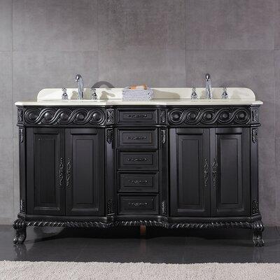 Trent 60 Double Bathroom Vanity Set