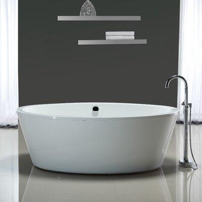 Marilyn 67 x 43 Soaking Bathtub