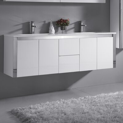 Lelio 59 Double Bathroom Vanity Set