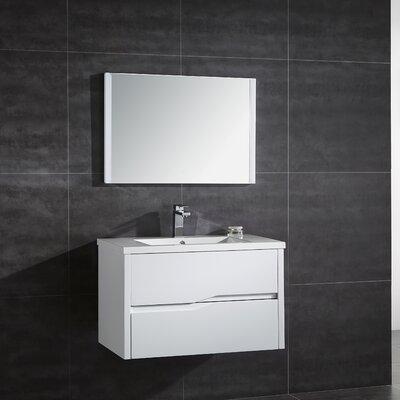 Vela 32 Single Bathroom Vanity with Mirror
