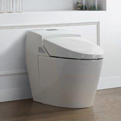 Godfrey 1.6 GPF Round One Piece Toilet