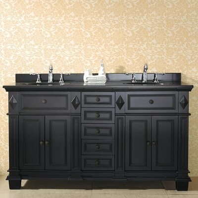Essex 60 Double Bathroom Vanity Set