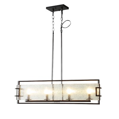 Anares III 4-Light Kitchen Island Pendant