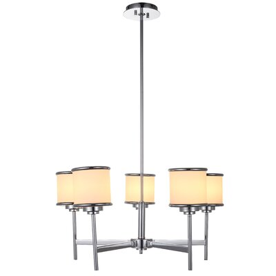 Max I 5-Light Shaded Chandelier