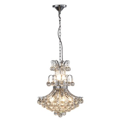 Windsor II 9-Light Crystal Chandelier