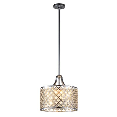 Baker I 4-Light Drum Pendant