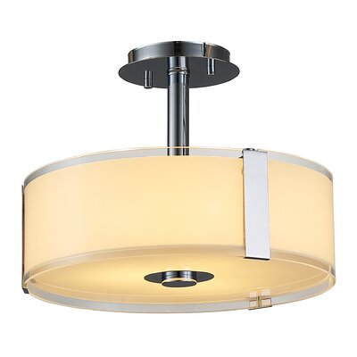 Bailey II 3-Light Semi-Flush Mount