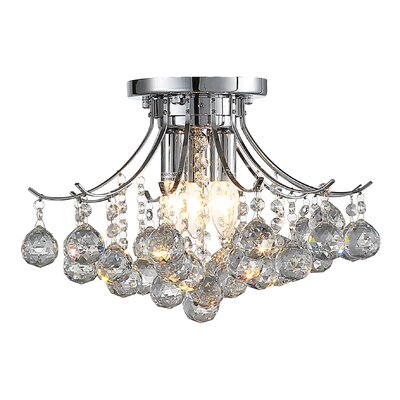 Warsaw 3-Light Crystal Chandelier