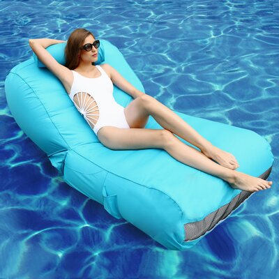 Aqua Sunlounger Inflatable Pool Float AQUABLUE