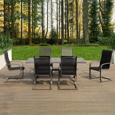 Mulholland 7 Piece Dining Set