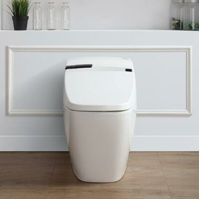 Bernard 1.6 GPF Elongated One-Piece Toilet with Touchless Flush