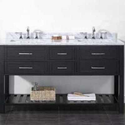 Sarasota 60 Double Bathroom Vanity Set