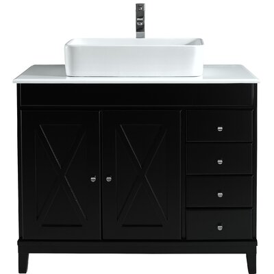 Barcelona 40 Single Bathroom Vanity Set