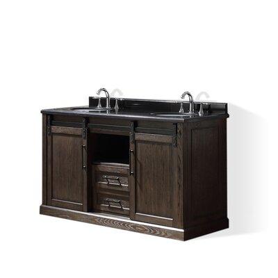 Laredo 60 Double Bathroom Vanity Set