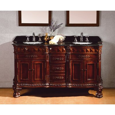 Bathroom Double Vanities on Geneva Double Bathroom Vanity Set   Bathroom Furniture Set