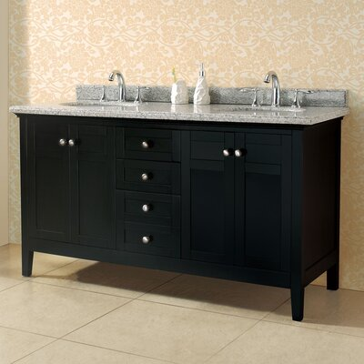"Reni 60"" Double Bathroom Double Vanity Set"