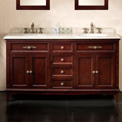 Roma 60 Double Bathroom Vanity Set