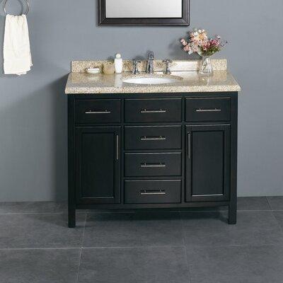 Milan 42 Single Bathroom Vanity Set