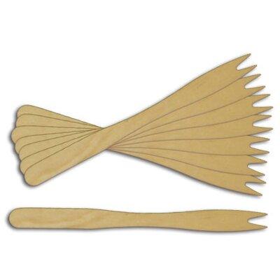 Wooden Forked Skewer (Set of 1000)