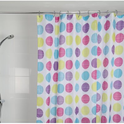 Gehrig Dots Textile Shower Curtain