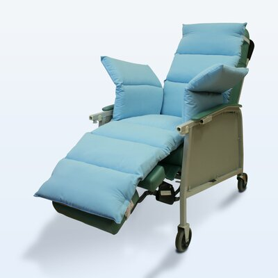 Geri-Chair Comfort Seat Cushion Color: Light Blue