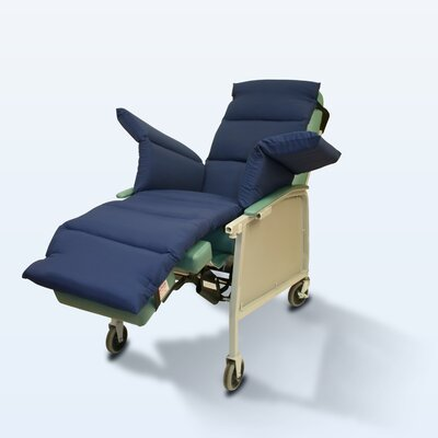 Geri-Chair Comfort Seat Cushion Color: Navy