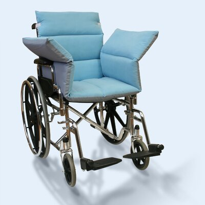 Wheelchair Reversible Comfort Seat Size: Extended 50, Color: Light Blue