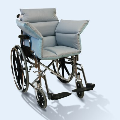 Wheelchair Reversible Comfort Seat Size: Standard 39, Color: Blue/Grey