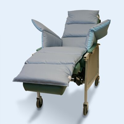 Geri-Chair Comfort Seat Cushion Color: Light Blue/Gray