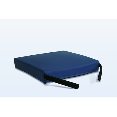 Gel-Foam Cushion in Navy Size: 3 H x 20 W x 16 D