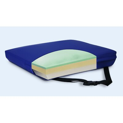 Apex Core Gel-Foam Cushion in Royal Blue Size: 3 H x 22 W x 16 D