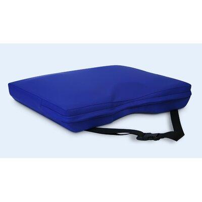 Apex Core Coccyx Gel-Foam Cushion in Royal Blue Size: 3H x 22 W x 16 D
